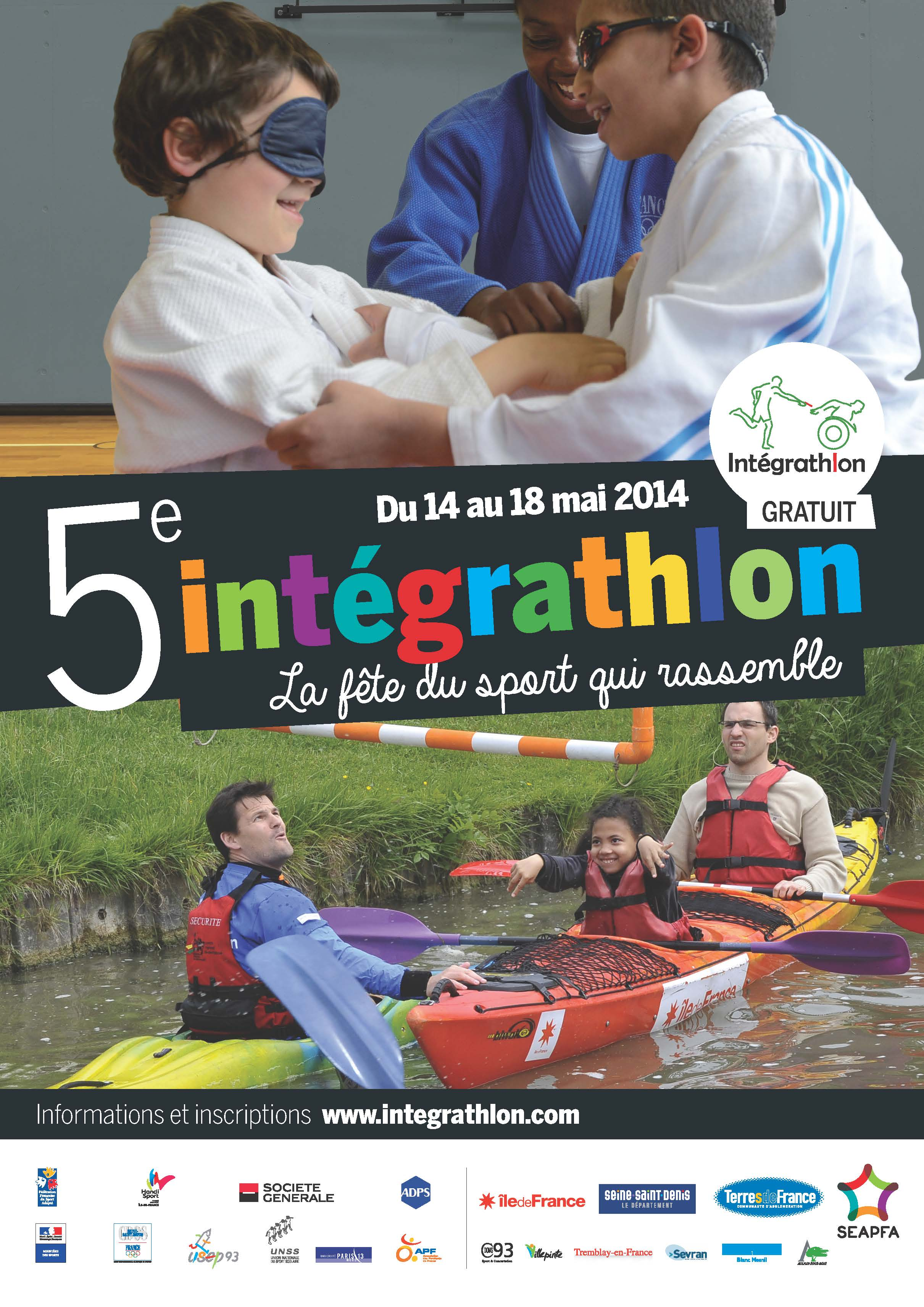 Week-end du 17 au 18 Mai 2014 – Intégrathlon 2014