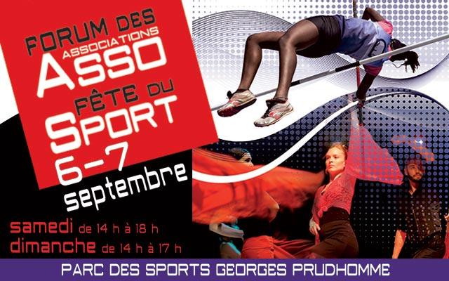 Weekend du 06-07 Septembre 2014 – «Fête du sport» de Tremblay-en-France
