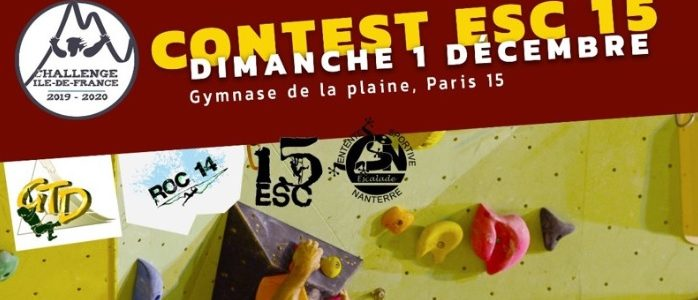 Contest ESC XV 1er Décembre  Saison 2019/2020