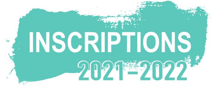Inscription & Réinscriptions saison 2021-2022