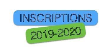 Ouverture des Ré Inscriptions & Inscriptions en ligne Adultes